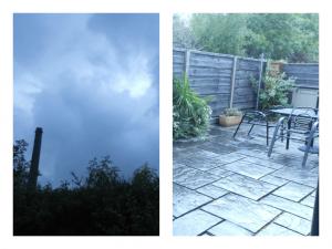 Lancashire in the rain