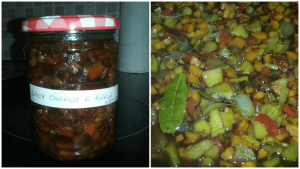 Spicy Carrot  & Apple Chutney