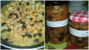 Sweet Potato & Pear Chutney