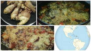 Arroz con Pollo del Puerto Rico