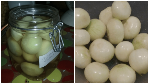 Sweet Crispy Pickled Onions