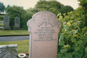 Philip Morrison and Jane Younie Grave