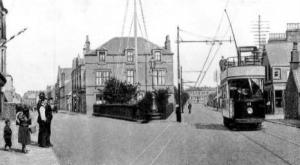 Tram at Stenhousemuir