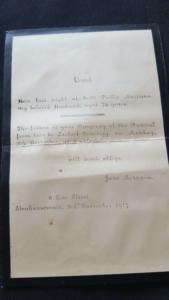 Philip Morrison death notice 1917