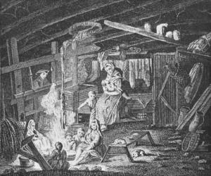 Weavers cottage 1772