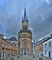 Aachen Catherdral by Maxgreene. Construction started 796