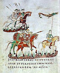 Frankish army - Siege of Pavia