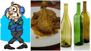 Chicken Casserole with wine