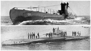 German U-boat similar to UB23