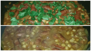 Sausage & Chickpea Simmer