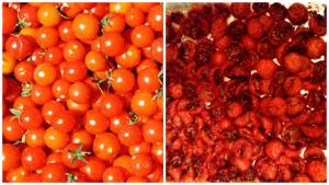 Sunblushed tomatoes