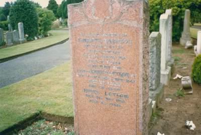1878-1951. 1st cousin 2xremoved. Elizabeth Morrison Grave