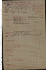 Joseph Webster Military Record
