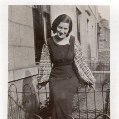 Daughter Agnes (Nan) Webster (1909-?)