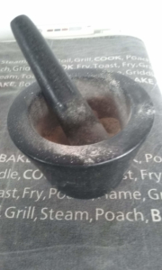 Pestle and Mortar The Flexible Chef