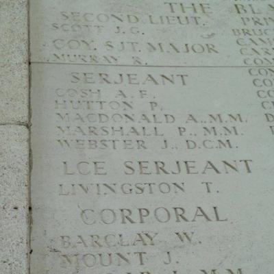 Ploegsteert Memorial to the Missing