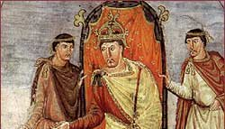 Charles the Bald - Crowned Holy Roman Emperor